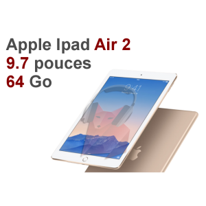 Location Tablette Apple Ipad Air 2 WiFi 64Go