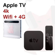 Location Pack Apple TV + Accès Wifi + internet 4g 2go