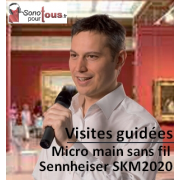 Location Micro sans fil pour Visite Guidée (Tour Guide), traduction simultanée