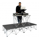 Location Podium RoadReady pliant 100x100 hauteur 60cm