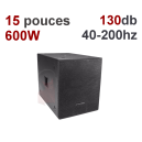 BASS 600: Location caisson de bass 600W