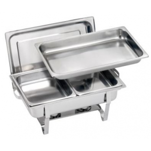 Location réchauffe plat / Chafing Dish avec combustibles gel 4h