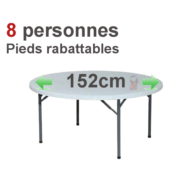 Table ronde 8 personnes dimensions remc homes for Table ronde 8 personnes dimensions