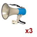 Location 3x Megaphone Rondson 25W
