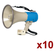 Location 10x Megaphone Rondson 25W