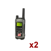 Location Pack 2 talkie walkie TLKR80 Extreme Tropicalisé 0.5W ultra simple pour moyens evenements