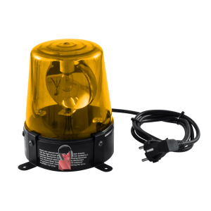Location gyrophare jaune 220V 18W