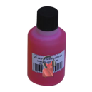 Encre UV-active, Rouge transparente, 50ml