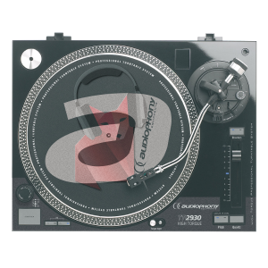Location platine vinyle Audiophony TT-2930- Direct Drive - Cellule Audio-technica