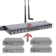 Location répartiteur splitter d'antenne 2.4
