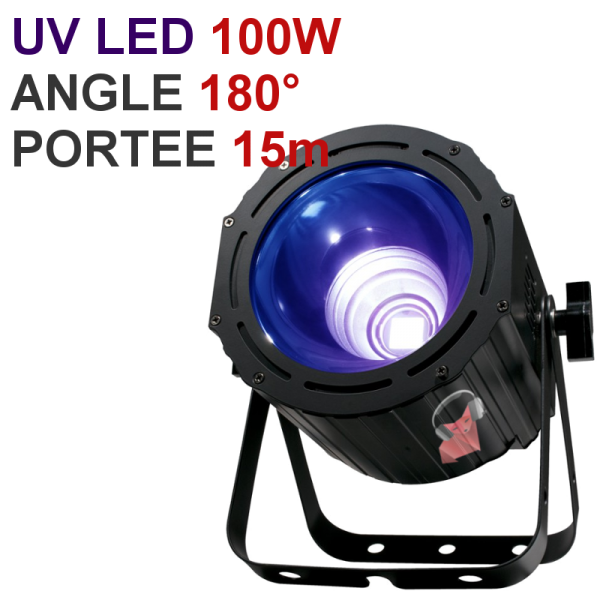 projecteur led 100w puissant pour ext rieur pictures to pin on pinterest. Black Bedroom Furniture Sets. Home Design Ideas
