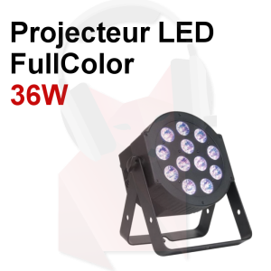 ECO: Location projecteur LED Full Color 36W 16 millions de couleurs