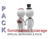 Packs Sono Mariages & Pacs avec micro